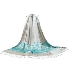 Großhandel gewebter Jacquard Schal für Dame