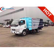 2019 HOT Dongfeng 5cbm estacionamiento barredora camión