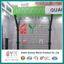 Valla de seguridad para aeropuertos de la marca Qym