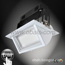 Hot! 38W adjustable rectangular led down light , SAA&CE approved