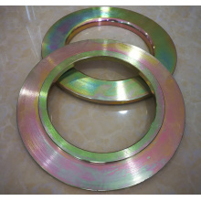 Color Zinc Galvanized CNC Machined Flange