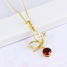 2014 New Design CZ Stone Necklace Fashion Jewelry