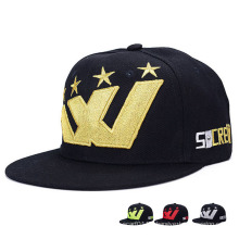Custom Embroidered Fashion Promotional Cotton Baseball Sports Hip-Hop Hats (YKY3354)