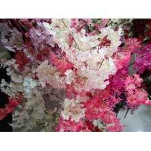 Decoração para casa boa flor de seda de ameixa