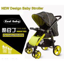 China Baby-Spaziergänger-Hersteller nach Maß Baby-Spaziergänger große Hinterräder leichte billige Preis reversible Sitzrichtung