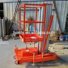 Appareils de levage mobiles Hontylift / échelles télescopiques / petits mécanismes de levage mécaniques