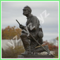 Casting Metal Life Size Statue BronzeSoldier