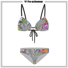 Spätester heißer Sommer-reizvoller Mädchen-Badebekleidungs-Großhandelsbikini