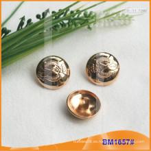 Botón de aleación de zinc y botón de metal y botón de costura de metal BM1657