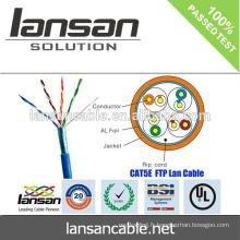 Câble CAT5E à haute vitesse et câble 100% passe Fluke