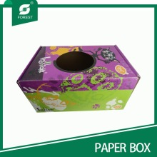 Unique Corrugated Cardboard Football Display Box with Window