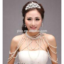 model jewelry bra strap