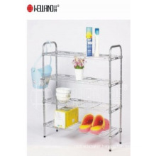 Adjustable Chrome Metal Bathroom Shelf (CJ603090B4C)