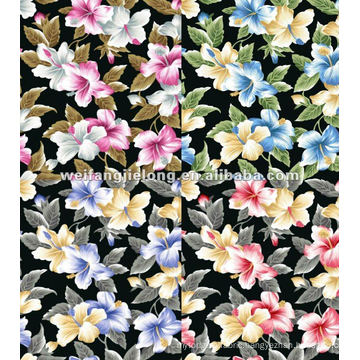 "100% spun rayon printed 35/6"" fabrics"