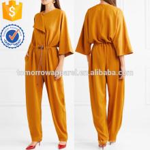Crstretch Crepe de Chine Jumpsuit Herstellung Großhandel Mode Frauen Bekleidung (TA3009J)