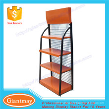 retail store shop metal floor for motor engine lubricating oil display rack