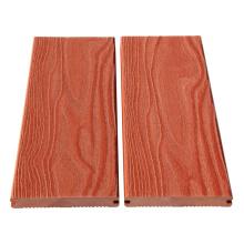 Planche de bois en plastique extérieure longue durée de vie wpc