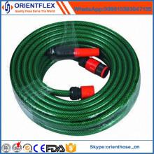 Fabricante de China con la manguera de jardín del PVC del carrete