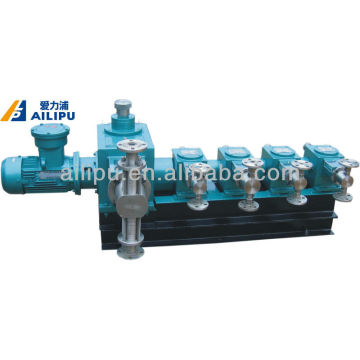 Multihead Industrial Chemical Piston Metering Pump