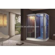 K-704 Banho de sauna interior completo com chuveiro a vapor com banheira de hidromassagem