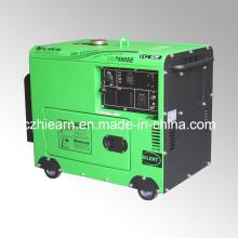 Grupo de gerador diesel portátil silencioso 5.5kw (DG7500SE)