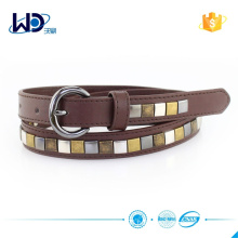 Brown PU Studs Boys Belt