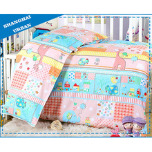 Cartoon 100%Cotton Baby Bedding Duvet Cover (set)