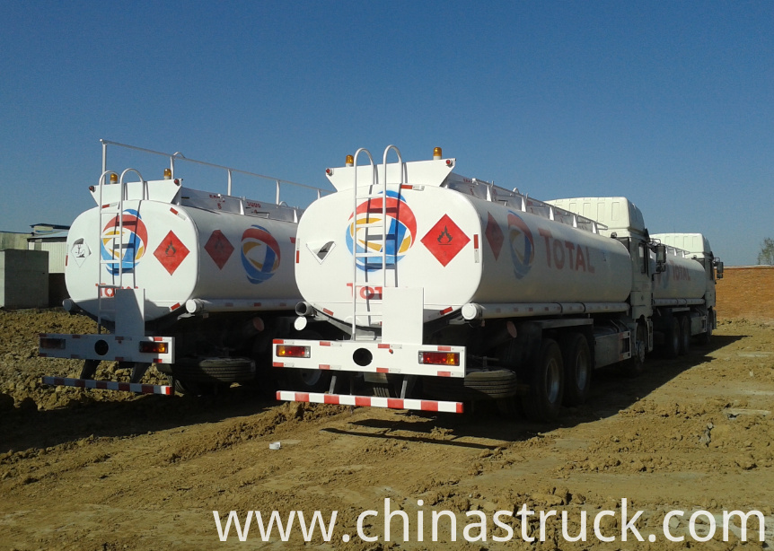 SHACMAN ADR fuel truck