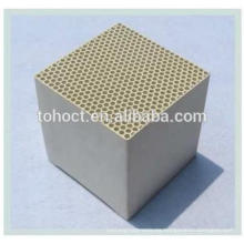 soporte de catalizador de monolito de cerámica de panal