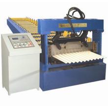 Rouleau de tôle d'acier ondulé formant la machine
