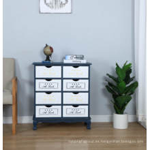 Gabinete del cajón del almacenamiento del pecho del nuevo diseño 8 para los muebles caseros