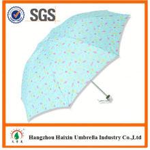 OEM/ODM Factory Wholesale Parasol Print Logo mini 3 folding umbrella