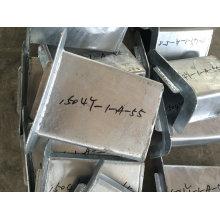 O OEM MERGULHO quente galvanizou as peças da fabricação de metal para o Stairway externo da construção