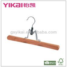 Crochet de pantalons en bois en cèdre en haute qualité qaulity