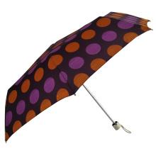 Parapluie coupe-vent 3 pliable léger à ouverture manuelle pour femme