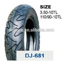 pneus de haute qualité à bas prix moto tubeless 110/90-10