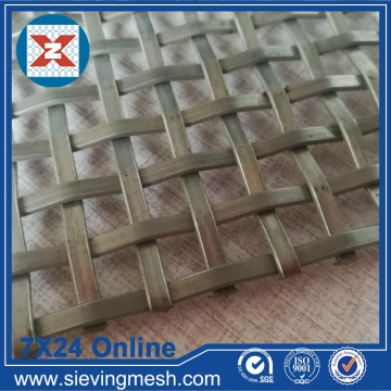 Mesh Stainless Crimped Wire Mesh