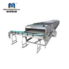 Tipo esterilizador continuo del rodillo de la máquina de la esterilización del zumo de fruta del acero inoxidable para el producto conservado
