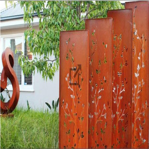 Custom Design Decorative Metal Garden Screens