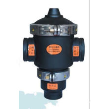 Válvula hidráulica da maneira 3 preta de nylon do preço de fábrica do filtro de água