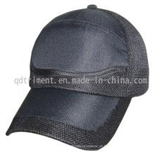 Respirável microfibra de malha de tecido beisebol desporto cap (trnr082)
