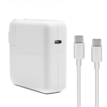Adaptador de corriente USB C de 61 W para Apple Macbook