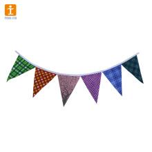 Decorações de bandeira de bandeira de festa de aniversário venda quente