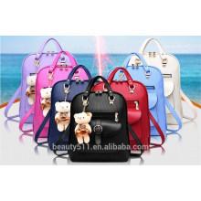 2017 saco de mochila da escola de moda mais nova senhoras saco de viagem barato mulher tote senhora ombros sacos BH42