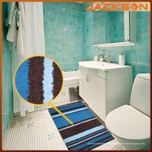 Tapete adornado Microfiber agradável do banheiro