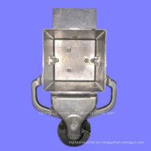 Fundición de aluminio a medida de la cubierta de la lámpara