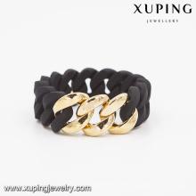 51589- Xuping Rubbzz Las pulseras más nuevas de la joyería de la manera brazaletes de las mujeres