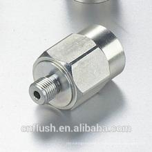 Изготовление на заказ латунь сталь алюминий части CNC токарного станка