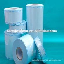Esterilización Rollo de embalaje transparente