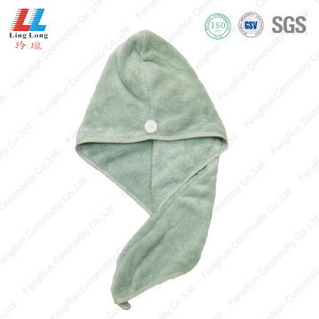 Special hair dry durable towel sponge